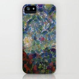 The Gourdy Night Starry Night Parody iPhone Case