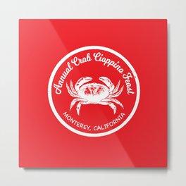 Crab Cioppino Feast Metal Print