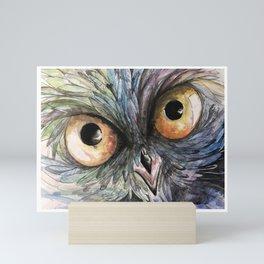 Owl See You_Owl 2 Mini Art Print