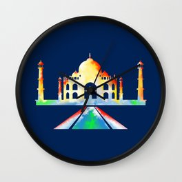 Taj Mahal Wall Clock
