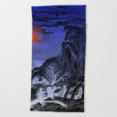 The Winter King Beach Towel