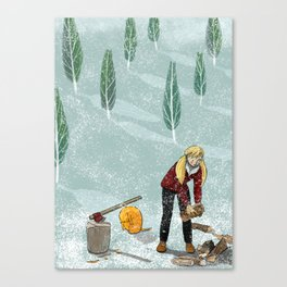 Cold December Canvas Print