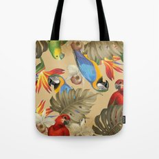 Birdland print Tote Bag