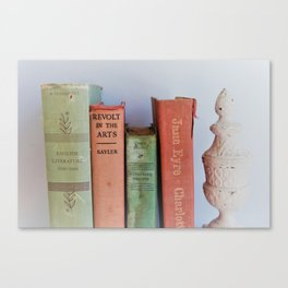 Wuthering Heights and Jane Eyre Canvas Print