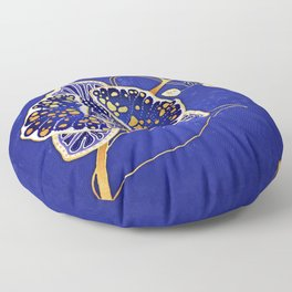 Egyptian Blue :: Orchid Floor Pillow