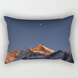 Crystal Mountain Rectangular Pillow