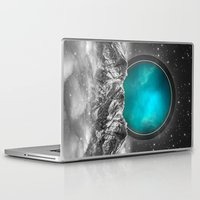 stargate Laptop & iPad Skins featuring Fade Away (Lunar Eclipse) by soaring anchor designs