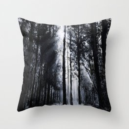 In the Woods V Throw Pillow