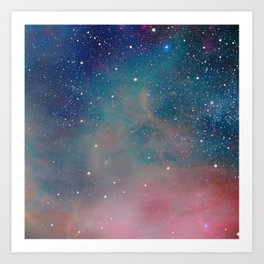 Star-formation in Orion Art Print