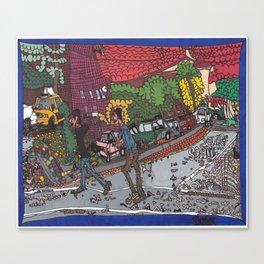 Jills Street - New York Canvas Print