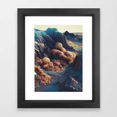 MILK.ORANG7 (everyday 05.17.16) Framed Art Print