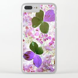 Unidentified inverted fauna Clear iPhone Case