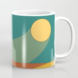 Sand Dunes in Sunlight Coffee Mug
