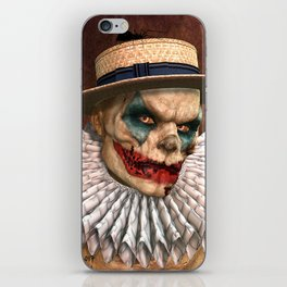 Zombie Clown iPhone Skin