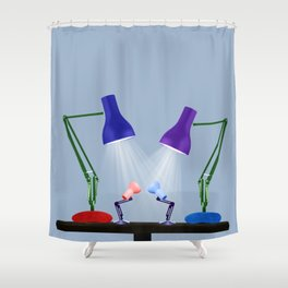 Let Your Love Shine Down Shower Curtain