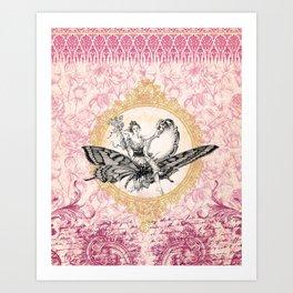 Vintage Fairy Queen Art Print