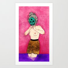 Beauty and Other Things Art Print