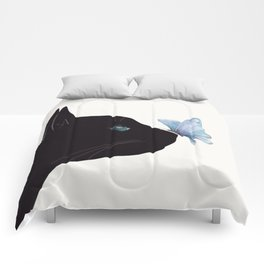 Cat and Butterfly Comforters