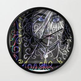 Celsa - Flower Power Wall Clock