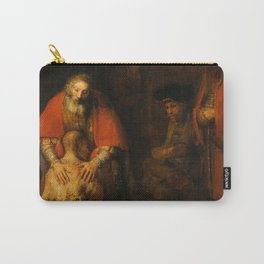 Return of the Prodigal Son, 1663-1665 by Rembrandt van Rijn Carry-All Pouch