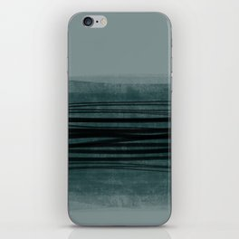 Grey lines iPhone Skin