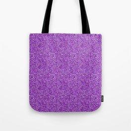Purple Moondust Glitter Pattern Tote Bag
