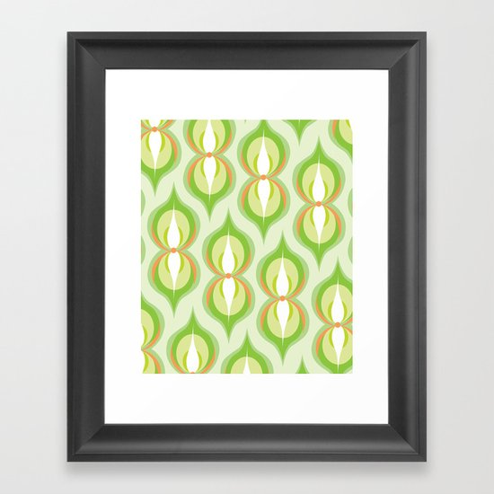 Modernco - Green Framed Art Print