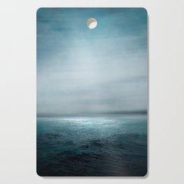 Sea Under Moonlight Cutting Board