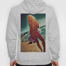 The Beach Lady Hoody