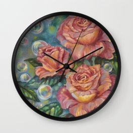 Sweet Moments Wall Clock