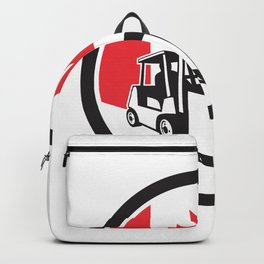 Canadian Logistics Canada Flag icon Backpack