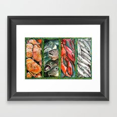 Frome the sea Framed Art Print