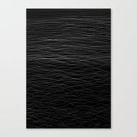 wave Canvas Prints featuring Wave by Georgiana Paraschiv