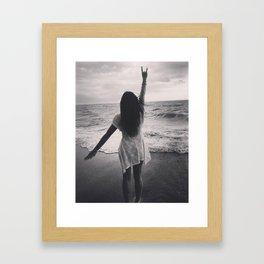 She's Home Framed Art Print