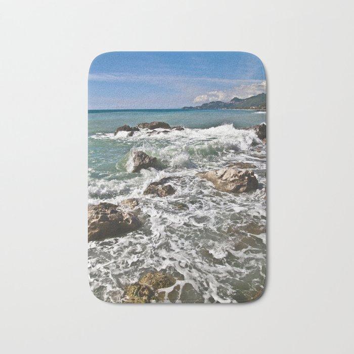 East coast on the Isle of Sicily Bath Mat