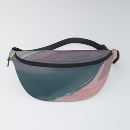 Blue Plum Marble Fanny Pack
