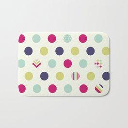 Colorful Dots Bath Mat