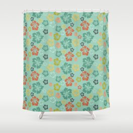 Hibiscus Love Shower Curtain