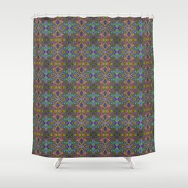 Tryptile 23 (repeating 2) Shower Curtain