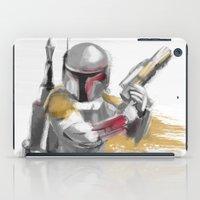 boba fett iPad Cases featuring Boba Fett by Berta Merlotte