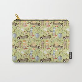 Woodland Animals In Forest Carry-All Pouch