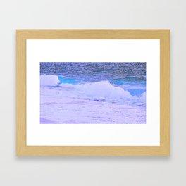 Captiva Waves Framed Art Print
