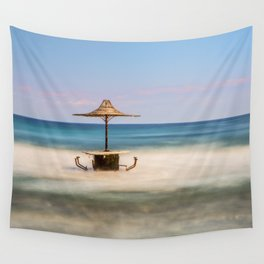Seaside Bar Wall Tapestry