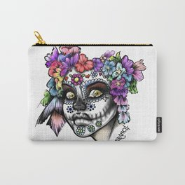 Sugar Skull Girl Carry-All Pouch