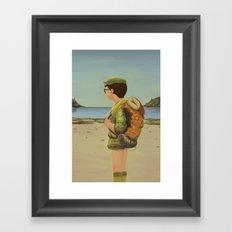 Scouting Framed Art Print