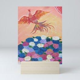 In the red sky | Yuko Nagamori Mini Art Print