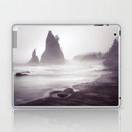 Misty Beach Laptop & iPad Skin