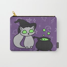 Witchy Whiskers Carry-All Pouch