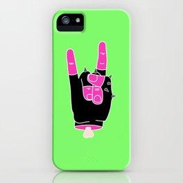 Heavy Metal iPhone Case