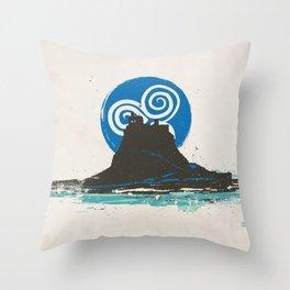 Holy Island of Lindisfarne, Northumberland, England Throw Pillow